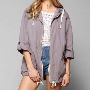 BDG oversized purple jacket